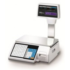 CL-5000 Barcode Label and Receipt Printing Scale